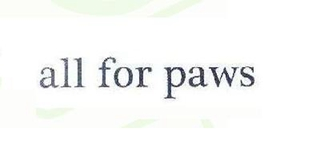All For Paws品牌logo